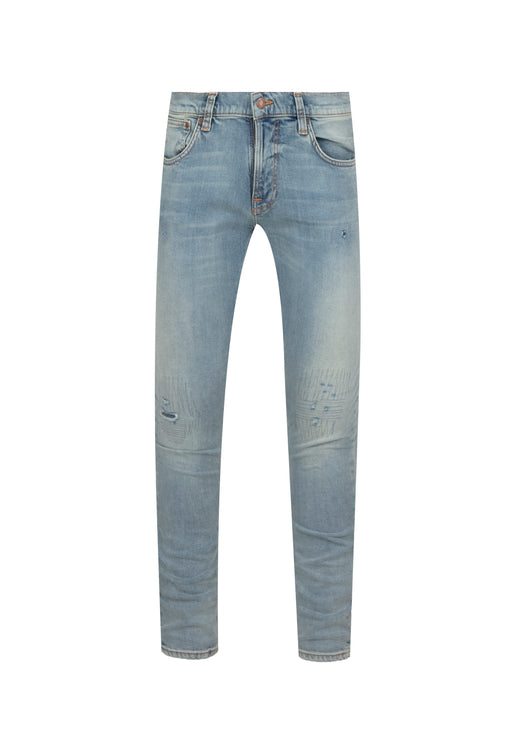 NUDIE: TIGHT TERRY DENIM JEANS [BLUE]