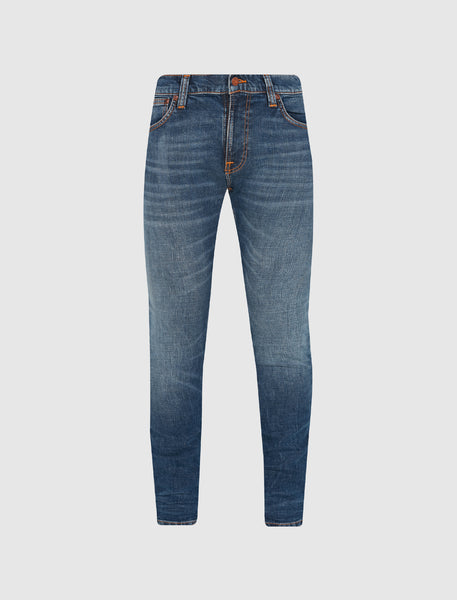 NUDIE JEANS CO.: TIGHT TERRY DUSTY [BLUE]