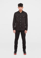 NUDIE JEANS CO.: TIGHT TERRY [BLACK]