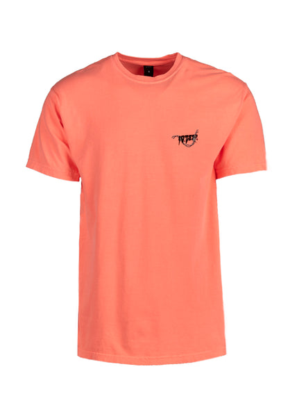 10.DEEP: BARBED WIRE SS TEE [CORAL] - apb-store