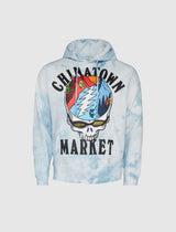 CHINATOWN MARKET: GRATEFUL DEAD POSITIVE ALTITUDE HOODIE [BLUE]