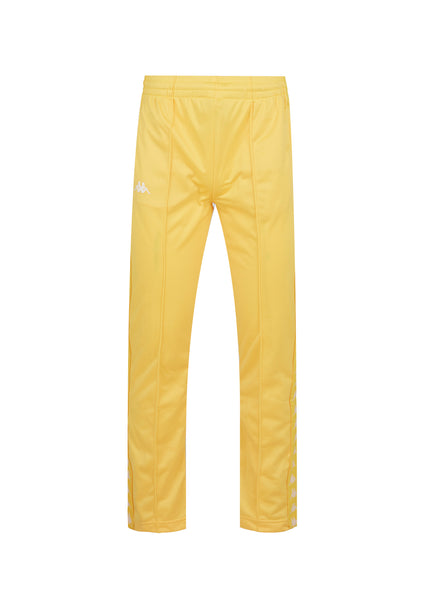 KAPPA: 222 BANDA PANTS [YELLOW]