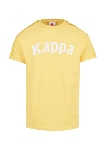 KAPPA: 222 BANDA TEE [YELLOW]