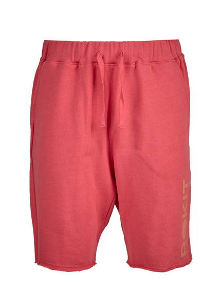 ROKIT: DIVER FLEECE SHORT [RED] - apb-store