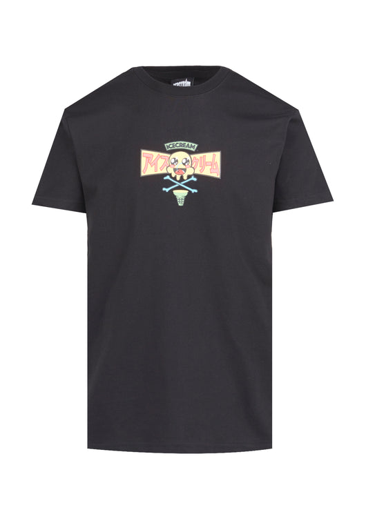 ICECREAM: SUB POP SS TEE [BLACK]