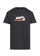 ICECREAM: BRUSH UP SS TEE [BLACK]