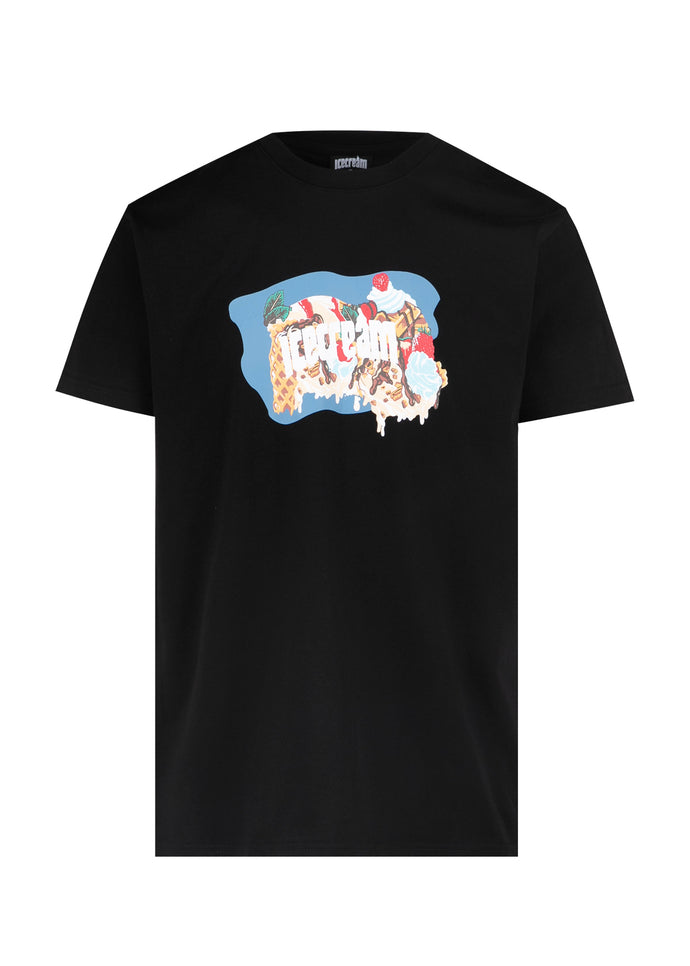 ICECREAM: CREAMERY SS TEE [BLACK]
