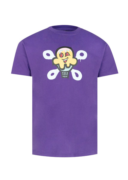 ICECREAM: WRENCH SS TEE [PURPLE]