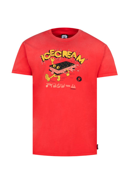 ICECREAM: PARTY SS TEE [RED]