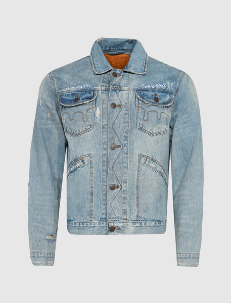 ICECREAM: COLD GOODS DENIM JACKET [INDIGO]