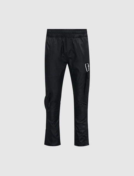 RENOWNED: NYLON CARABINER PANTS [BLACK]
