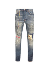 BILLIONAIRE BOYS CLUB: MOONSHOT JEANS [INDIGO]