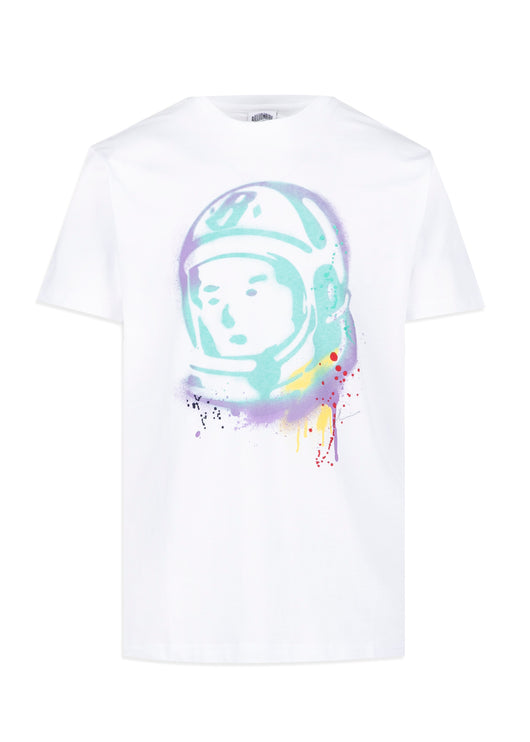 BILLIONAIRE BOYS CLUB: HELMET SS TEE [WHITE]