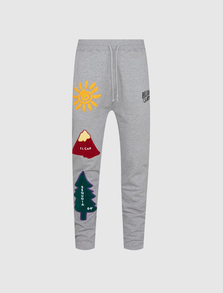 BILLIONAIRE BOYS CLUB: SUNRISE SWEATPANTS [GREY]