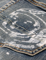 BILLIONAIRE BOYS CLUB: STARLIGHT JEAN [INDIGO]