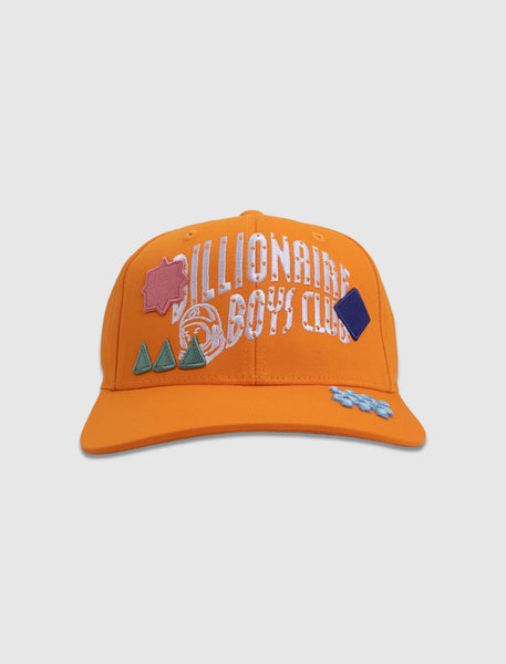 BILLIONAIRE BOYS CLUB: ARCH SNAPBACK HAT [ORANGE]
