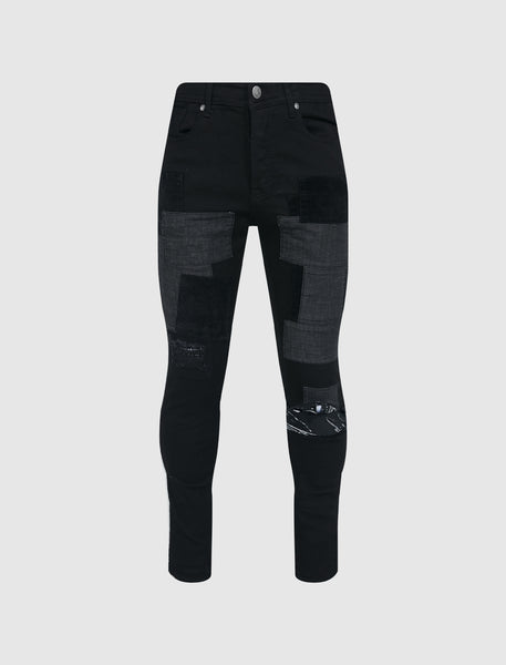 BILLIONAIRE BOYS CLUB: ATMOS JEAN [BLACK]
