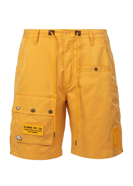 BILLIONAIRE BOYS CLUB: AVIATOR SHORTS [YELLOW] - apb-store