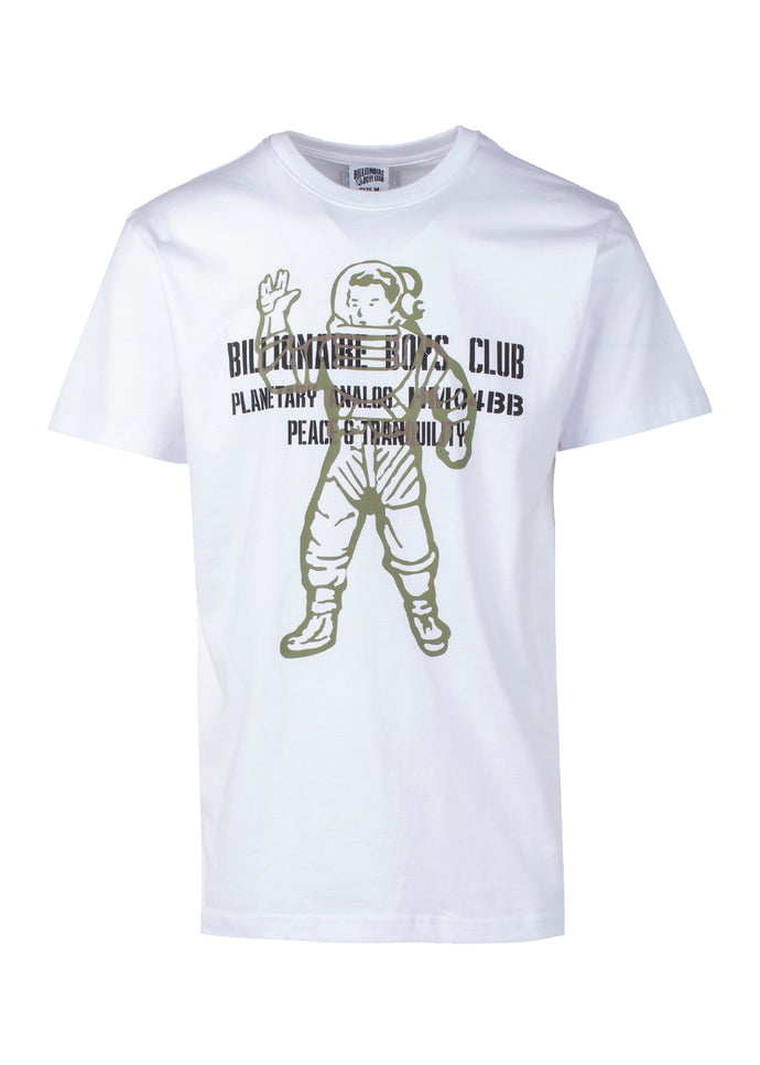 BILLIONAIRE BOYS CLUB: VISITOR SS TEE [WHITE] - apb-store