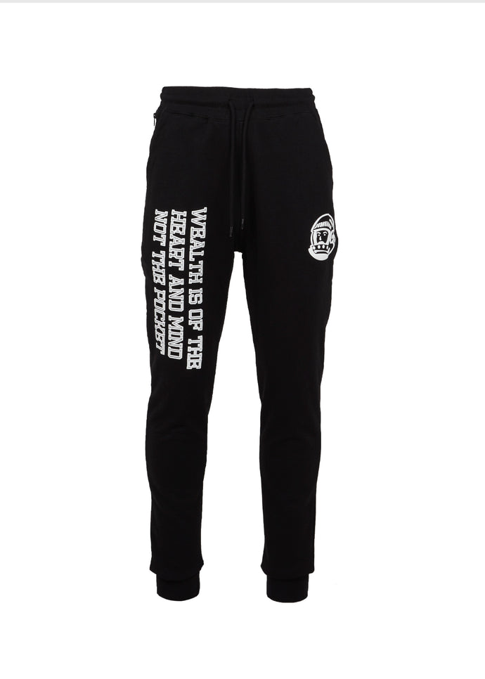 BILLIONAIRE BOYS CLUB: WEALTH JOGGER [BLACK]