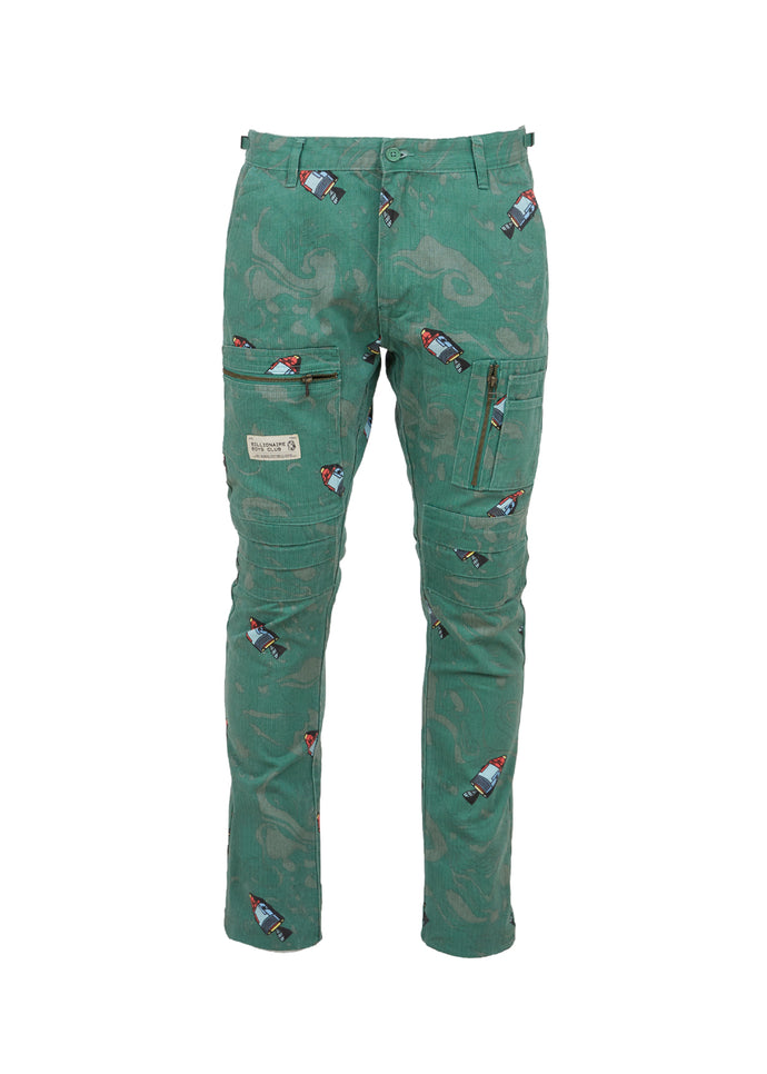 BILLIONAIRE BOYS CLUB: BBC CAPSULE PANT [GREEN]