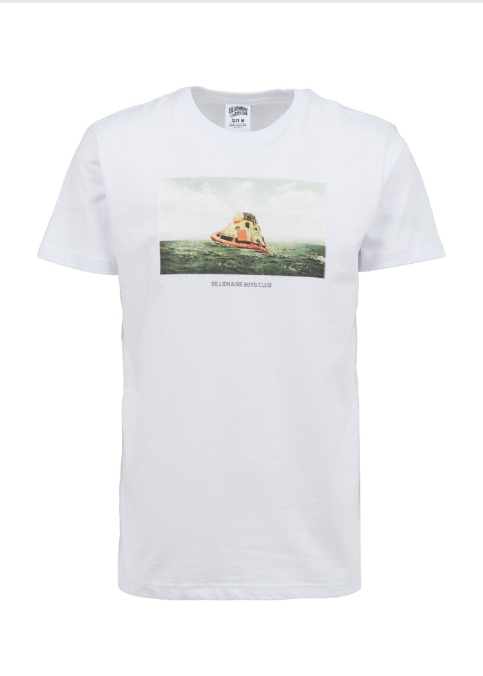 BILLIONAIRE BOYS CLUB: STRANDED SS TEE [WHITE]