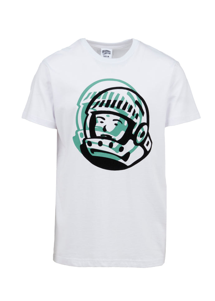 BILLIONAIRE BOYS CLUB: DOUBLED SS TEE [WHITE]