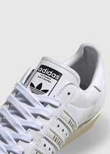 ADIDAS X HUMAN MADE: SUPERSTAR 80S [WHITE]