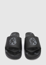 BILLIONAIRE BOYS CLUB: SPACE WALKER SLIDES [BLACK] - apb-store