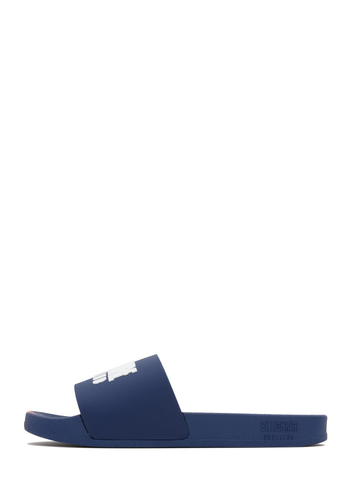 BILLIONAIRE BOYS CLUB: BBC SLIDES [NAVY] - apb-store