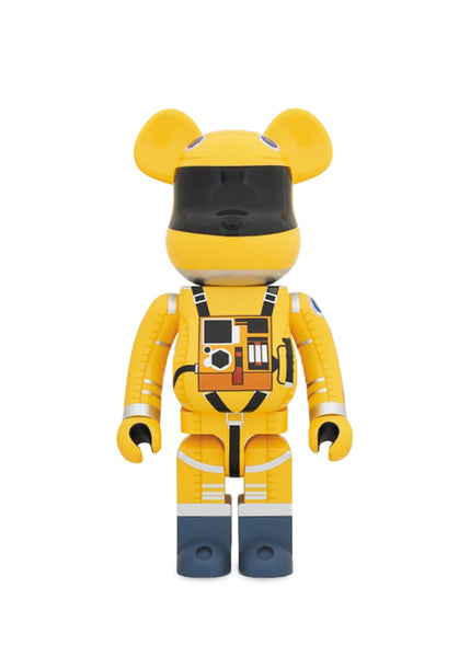 MEDICOM: BEARBRICK 1000% SPACE SUIT [YELLOW]