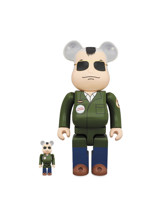 MEDICOM: BEARBRICK 100/400% TRAVIS BICKLE SET [GREEN]