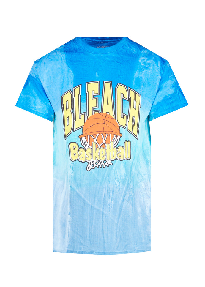 BLEACHED GOODS: UNIVERSITY TEE [BLUE]