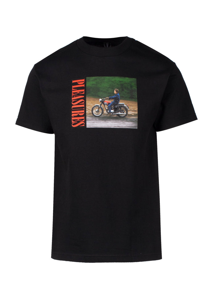 PLEASURES: RIDE SS TEE [BLACK] - apb-store