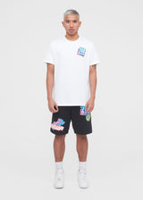 JORDAN: STICKER TEE [WHITE]