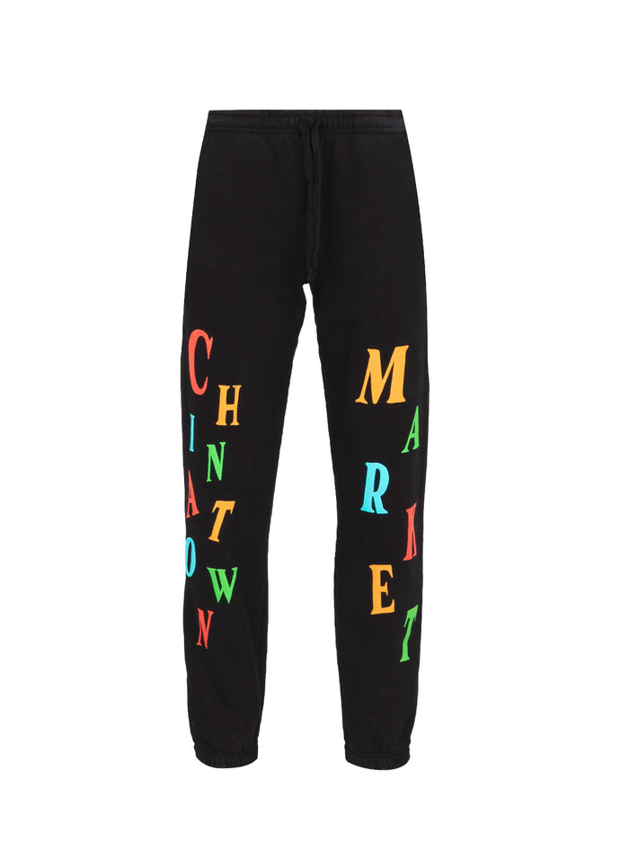 CHINATOWN MARKET: ATELIER SWEATPANTS [BLACK]