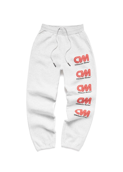 CHINATOWN MARKET: MOST TRUSTED SWEATPANT [GREY]