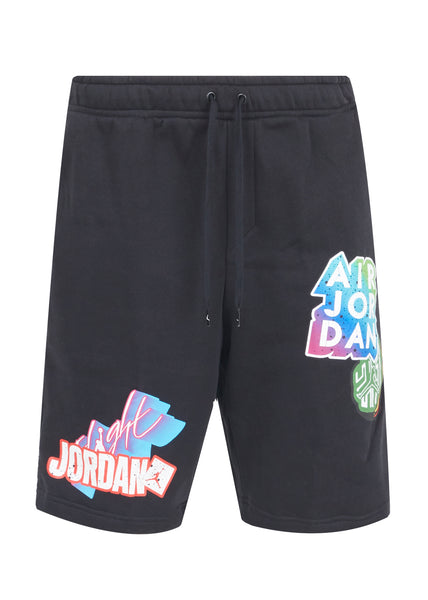 JORDAN: STICKER SHORTS [BLACK]