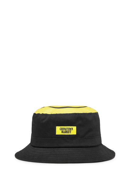 CHINATOWN MARKET SMILEY BUCKET HAT [BLACK]