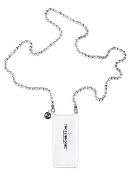 CROSS/PHONEZ: BALL CHAIN PHONE CASE [SILVER]