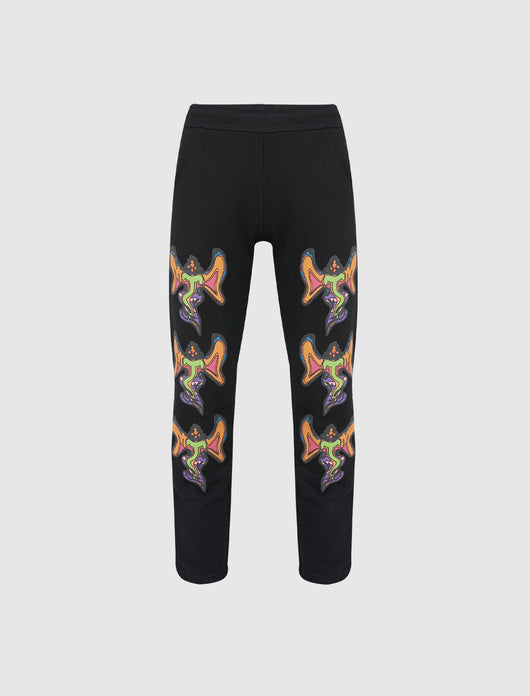 CHINATOWN MARKET: GODDESS SWEATPANT [BLACK]