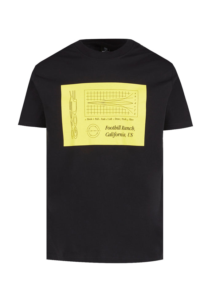 OAKLEY: STRETCH SS TEE [BLACK]