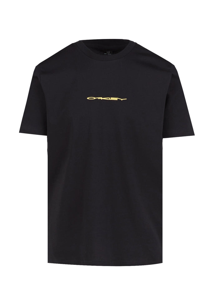 OAKLEY: COLLEGE TEE [BLACK]