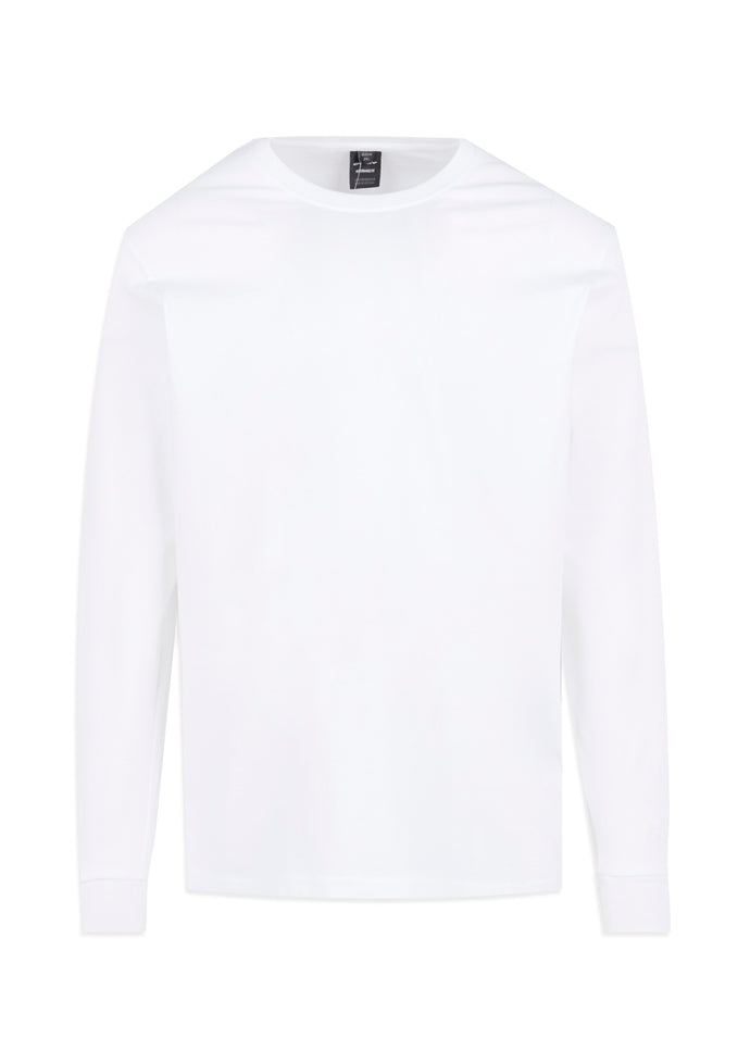 OAKLEY: COLLEGE LS TEE [WHITE]
