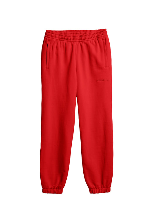 ADIDAS X PHARRELL WILLIAMS: BASICS PANTS [RED]