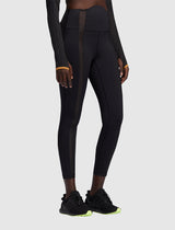IVY PARK: 2.2 MESH PANEL TIGHTS [BLACK]