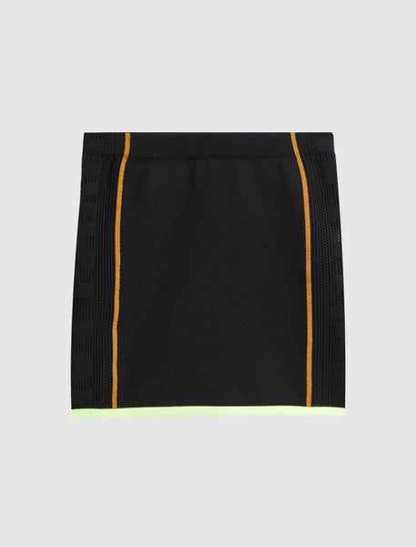 IVY PARK: 2.2  KNIT SKIRT [BLACK]