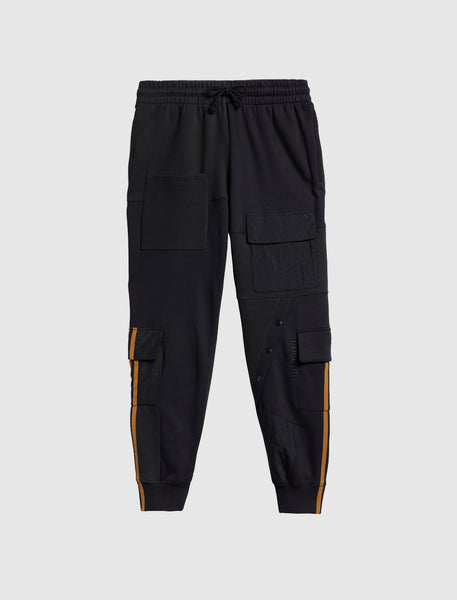 IVY PARK: 2.2 4ALL CARGO SWEATPANTS [BLACK]