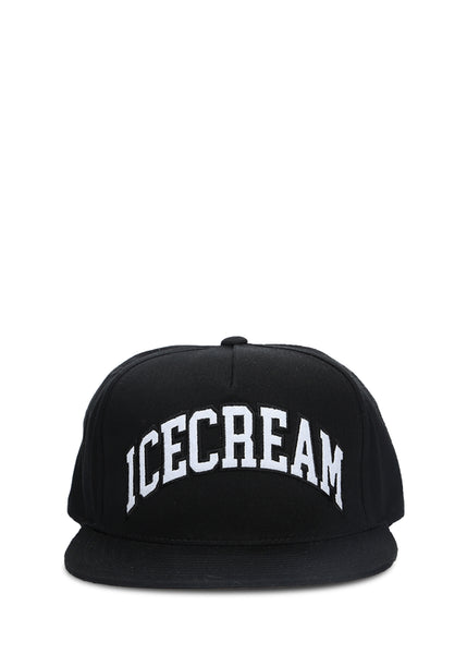 ICE CREAM: LOGO SNAPBACK [BLACK]