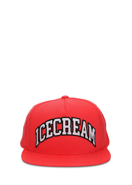 ICE CREAM: LOGO SNAPBACK [RED] - apb-store